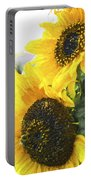 Solar Sunflowers Portable Battery Charger