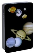Solar System Montage Portable Battery Charger