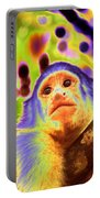Solarized White-faced Monkey Portable Battery Charger