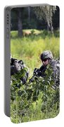 Soldiers Maintain Security At Fort Portable Battery Charger