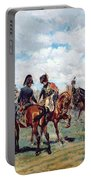 Soldiers On Horseback Portable Battery Charger