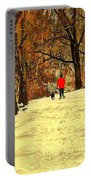 Solitude With A Friend Portable Battery Charger