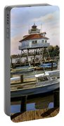 Solomon's Island Portable Battery Charger by Guido Borelli