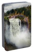 Somewhere Over The Falls Portable Battery Charger
