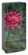 Song Of Solomon - The Flowers Appear Portable Battery Charger