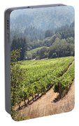 Sonoma Vineyards In The Sonoma California Wine Country 5d24515 Square Portable Battery Charger