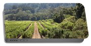 Sonoma Vineyards In The Sonoma California Wine Country 5d24518 Portable Battery Charger