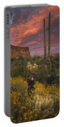 Sonoran Romance Portable Battery Charger