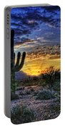 Sonoran Sunrise  Portable Battery Charger