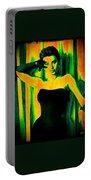Sophia Loren - Neon Pop Art Portable Battery Charger