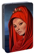 Sophia Loren 2  Portable Battery Charger