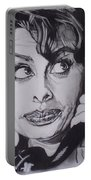 Sophia Loren Telephones Portable Battery Charger