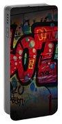 Sot Graffiti - Lisbon Portable Battery Charger