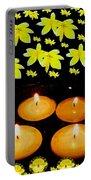 Soul Meditative Pop Art Portable Battery Charger