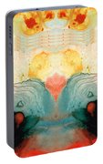 Soul Star - Abstract Art By Sharon Cummings Portable Battery Charger
