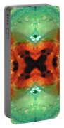 Soul Symphony - Abstract Art By Sharon Cummings Portable Battery Charger