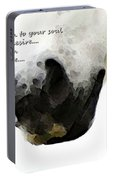 Soul Touch - Emotive Horse Art By Sharon Cummings Portable Battery Charger