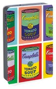 Soup Cans Portable Battery Charger