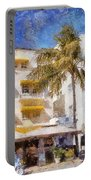 South Beach Miami Art Deco Buildings Portable Battery Charger