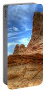 South Coyotte Buttes 8 Portable Battery Charger by Bob Christopher