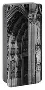 South Entrance Detail Cologne Cathedral Portable Battery Charger