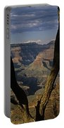 South Rim Grand Canyon Sunset Light On Rock Formations With Woma Portable Battery Charger