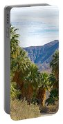 South Side View Of Andreas Canyon Trail In Indian Canyons-ca Portable Battery Charger