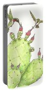 South Texas Nopales For Breakfast Portable Battery Charger
