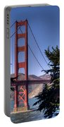 South Tower Portable Battery Charger by Bill Gallagher