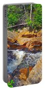 Southeast Brook Above Falls In Gros Morne Np-nl Portable Battery Charger