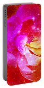 Southern Belle / Hot Pink Magnolia  Portable Battery Charger