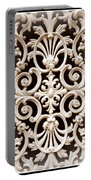Southern Ironwork In Sepia Portable Battery Charger
