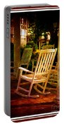Southern Sunday Afternoon Portable Battery Charger by Susanne Van Hulst