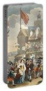 Southwark Fair, 1733, Illustration Portable Battery Charger