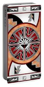 Southwest Collection - Design Six In Red Portable Battery Charger