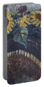 Southwest Sunflowers Portable Battery Charger
