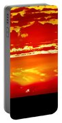 Southwest Sunset Portable Battery Charger by Robert Bales