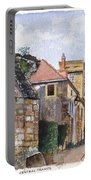Souvigny Eclectic Architecture In A Village In Central France Portable Battery Charger