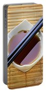 Soy Sauce With Chopsticks Portable Battery Charger