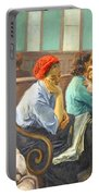 Soyer's A Railroad Station Waiting Room Portable Battery Charger