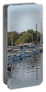 Sozopol Harbour Bulgaria. Portable Battery Charger