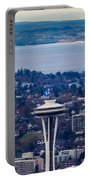 Space Needle 12th Man Seahawks Portable Battery Charger