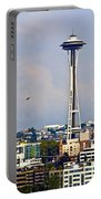 Space Needle Seattle Portable Battery Charger
