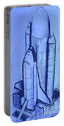Space Shuttle Portable Battery Charger