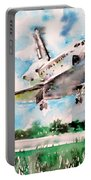 Space Shuttle Landing Portable Battery Charger