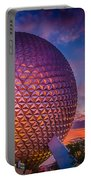 Spaceship Earth Glow Portable Battery Charger