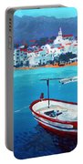 Spain Series 08 Cadaques Red Boat Portable Battery Charger