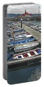 Row Boats In Spain Series 27 Portable Battery Charger