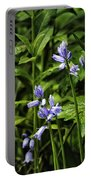 Spanish Bluebells Portable Battery Charger