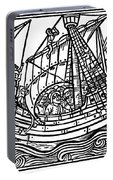Spanish Ship, 1496 Portable Battery Charger